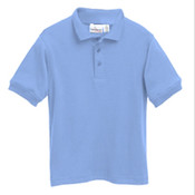 Short Sleeve Interlock Uniform Polo